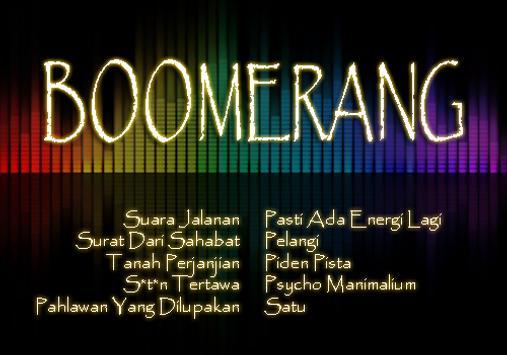 Boomerang Full Album screenshot 3