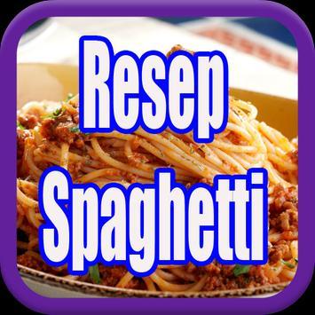 Resep Spaghetti Lezat poster