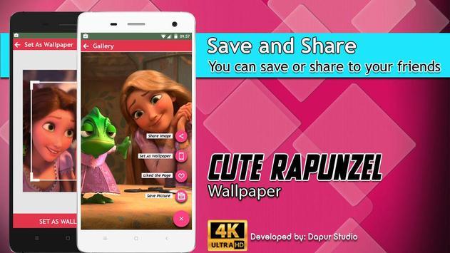 Cute Rapunzel Wallpaper screenshot 4