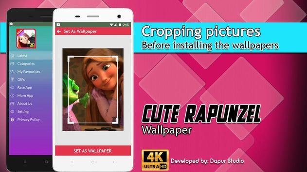 Cute Rapunzel Wallpaper screenshot 5