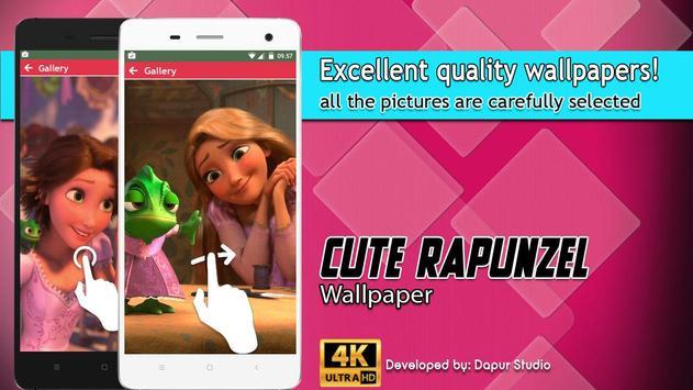 Cute Rapunzel Wallpaper screenshot 3
