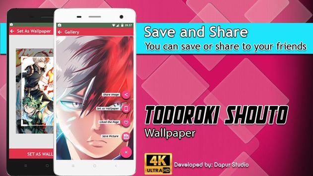Todoroki Shouto Wallpaper screenshot 4
