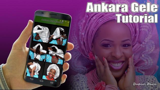 Ankara gele tutorial poster