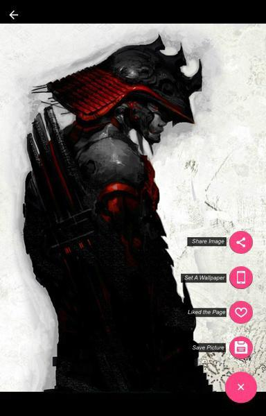 Black Samurai Armor Wallpaper For Android Apk Download