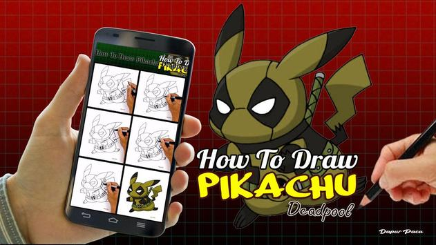 How To Draw Pikachu Deadpool For Android Apk Download