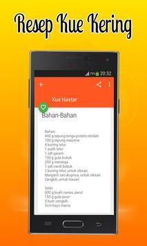 Aneka Resep Kue Kering apk screenshot