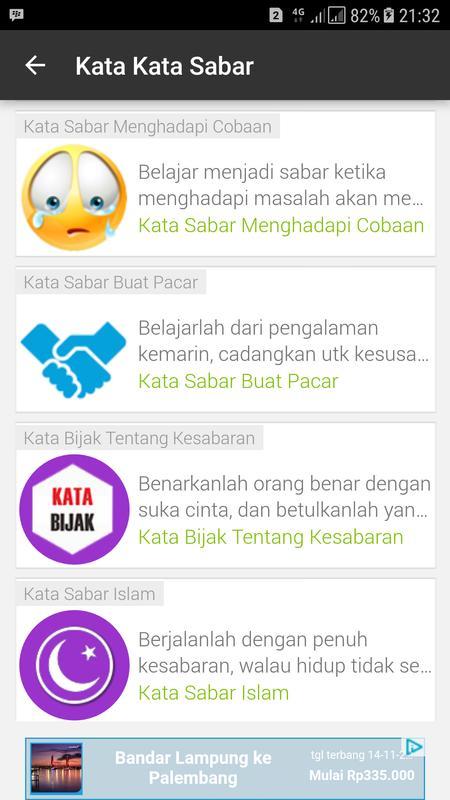 Kata Kata Sabar Fur Android Apk Herunterladen