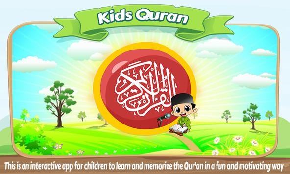 KidsQuran - Learn Qur'an for Kids with Audio poster