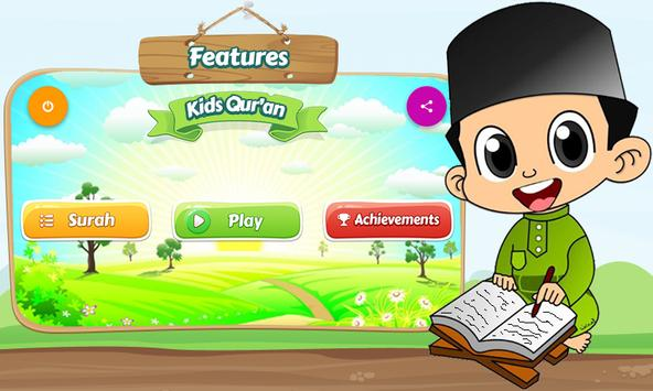 KidsQuran - Learn Qur'an for Kids with Audio screenshot 1