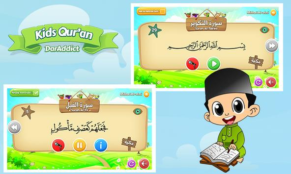KidsQuran - Learn Qur'an for Kids with Audio screenshot 3