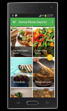 Resep Sayuran dan Tumis screenshot 1