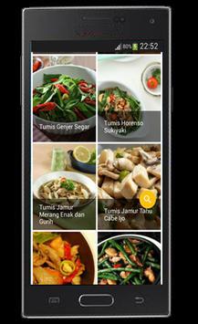 Resep Sayuran dan Tumis screenshot 2