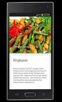 Resep Sayuran dan Tumis apk screenshot