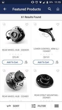 Dar Chassis Parts App apk screenshot