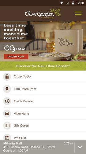 Olive Garden Italian Kitchen Apk Baixar Gr Tis Comer E Beber Aplicativo Para Android