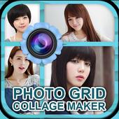 Photo Grid Collage Make icon
