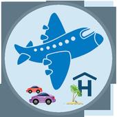 darexTravel: Vuelos y Hoteles icono