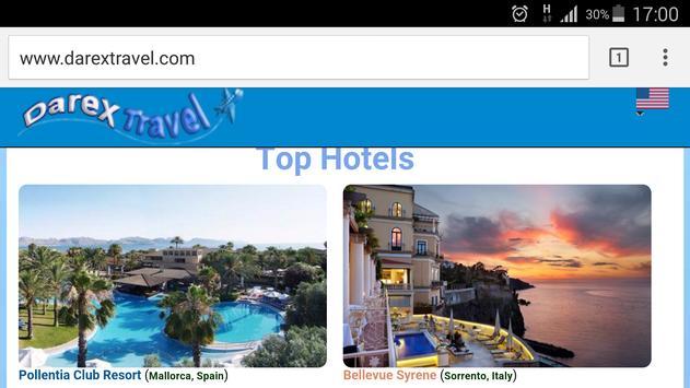 darexTravel: Vuelos y Hoteles captura de pantalla 4