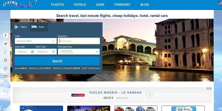darexTravel: Vuelos y Hoteles captura de pantalla 6