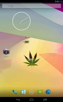 Marijuana Leaf HD Battery apk screenshot