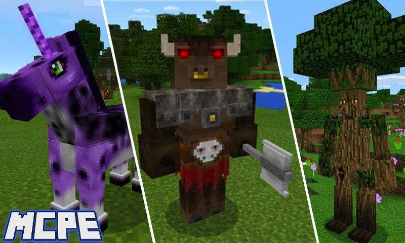 Amazing Mobs Addon for Minecraft PE for Android - APK Download