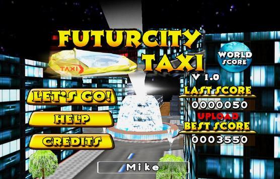 FuturCity Taxi poster