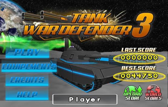 Tank War Defender 3 poster