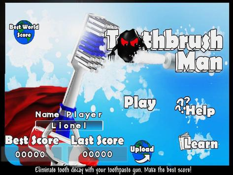 Toothbrush Man apk screenshot