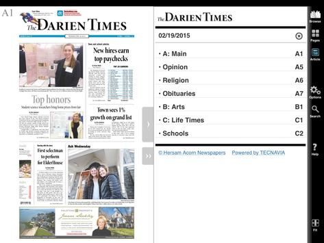 The Darien Times apk screenshot