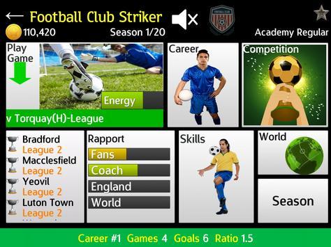 Football Club Striker apk screenshot