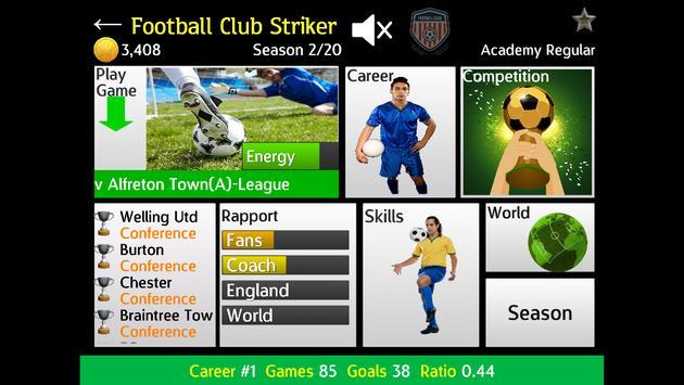 Football Club Striker poster
