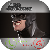 Call From Batman Fake icon