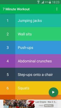 7 Minute Workout screenshot 5