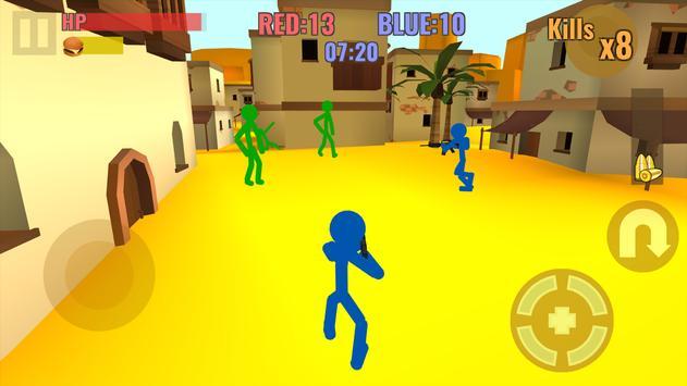 Stickman Counter Zombie Strike स्क्रीनशॉट 4
