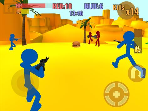 Stickman Counter Zombie Strike स्क्रीनशॉट 7