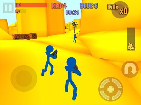 Stickman Counter Zombie Strike स्क्रीनशॉट 8