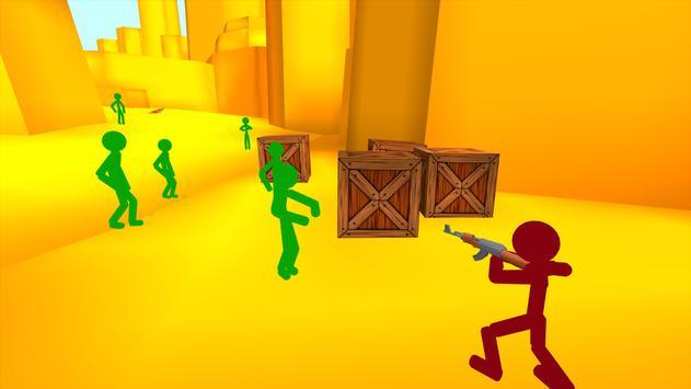 Stickman Counter Zombie Strike स्क्रीनशॉट 3