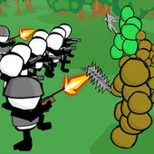 Stickman Gun Battle Simulator icon