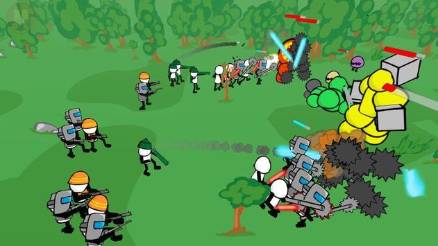 Stickman Gun Battle Simulator screenshot 4