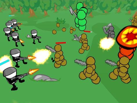 Stickman Gun Battle Simulator screenshot 7