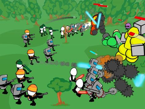 Stickman Gun Battle Simulator screenshot 9