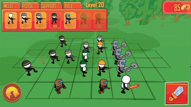 Stickman Gun Battle Simulator screenshot 1