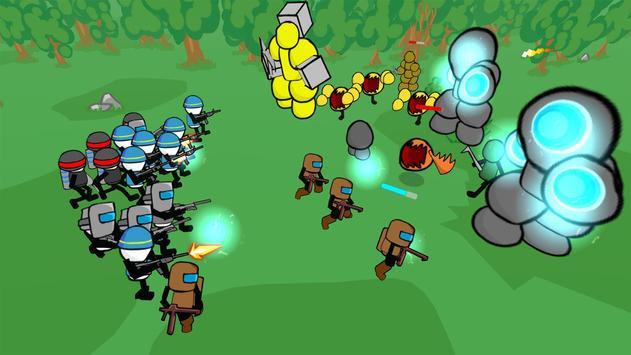 Stickman Gun Battle Simulator screenshot 3