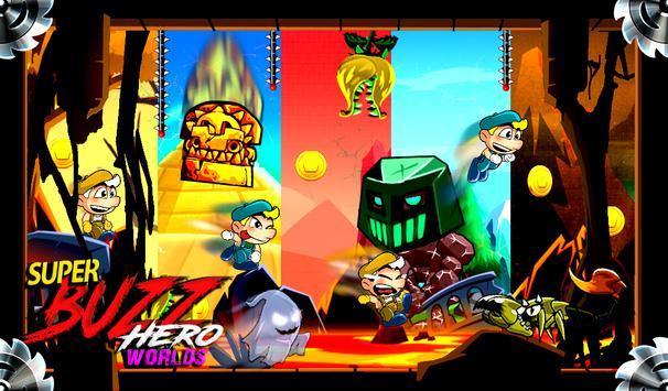 Super Buzz odyssey of Legends, destiny of mars apk screenshot