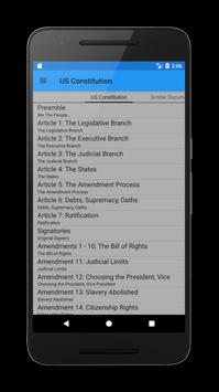 US Constitution apk screenshot