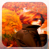 Autumn Girl Live Wallpaper icon