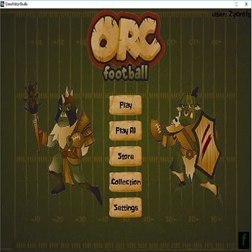 OrcFootBall apk screenshot