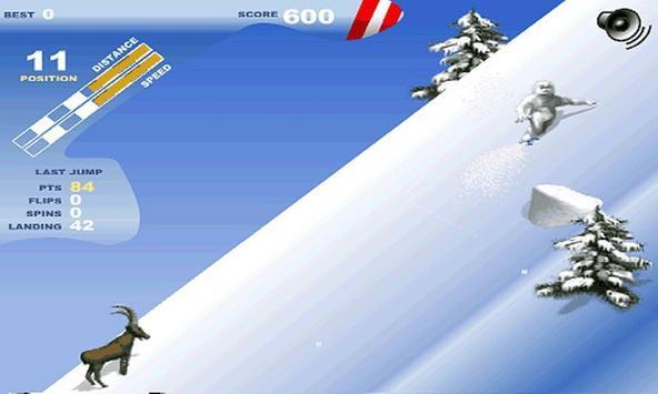 Mountain Snowboard poster