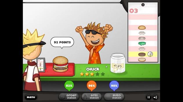 ... Free Papas Burgeria screenshot 2