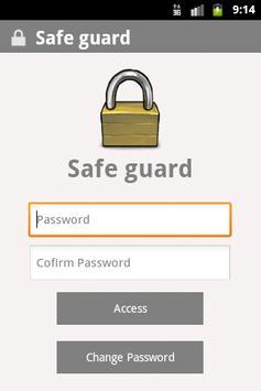Safe Guard poster